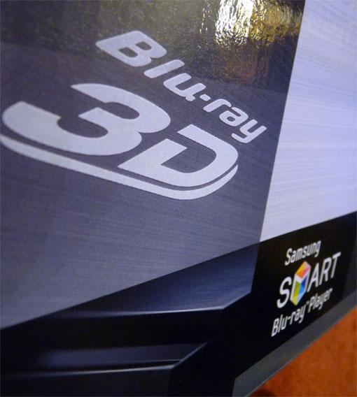 Samsung Karton Logo Blu Ray 3d